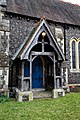 St Peter's Church, Shelley, Essex - south porch.jpg