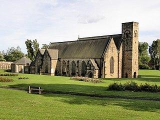 Monkwearmouth Area of Sunderland, England