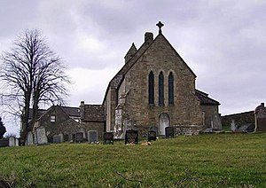 Halton-with-Aughton - St Saviour's Church, located on Aughton Road to the north of the hamlet.