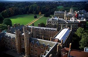 Collegiate university - Buildings of St John's College, Cambridge
