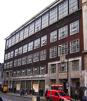 Saint Martin's School of Art - The Saint Martin's School of Art building, in Charing Cross Road