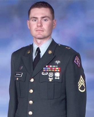 Russell Adam Burnham - Then Staff Sgt Russell Adam Burnham,  U.S. Army Medical Corps NCO of the Year (2007)