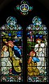 Stained glass window, St Michael's church, Lewes (15843413682).jpg