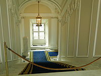 Stairs in Royal Castle