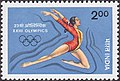 Stamp of India - 1984 - Colnect 477274 - XXIII Olympics - Gymnastics.jpeg