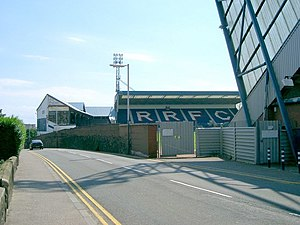 Raith Rovers F.C. - Stark's Park, home of Raith Rovers