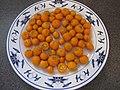 Starr-130113-1428-Citrofortunella microcarpa-harvested fruit on plate-Hawea Pl Olinda-Maui (24908838010).jpg