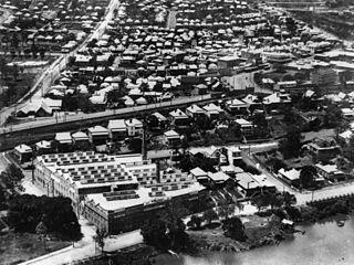 Petrie Terrace, Queensland Suburb of Brisbane, Queensland, Australia