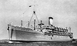 RMS Orion - Image: State Lib Qld 1 121100 Orion (ship)