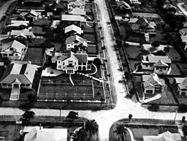 StateLibQld 1 130603 Aerial view of houses in Clayfield, Brisbane, 1930