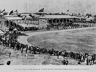 The Gabba - The Gabba in 1899