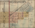 State Line City Indiana map from 1877 atlas.png