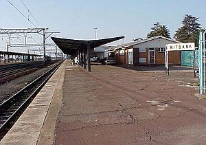 Witbank - Witbank railway station