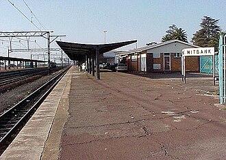 Witbank - Witbank railway station