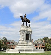 Statue Robert E. Lee Richmond