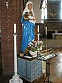 Statue within the Church of the Ascension, Stubbington Avenue - geograph.org.uk - 961647.jpg