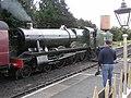 Steam train, Toddington Railway Station - geograph.org.uk - 1468661.jpg