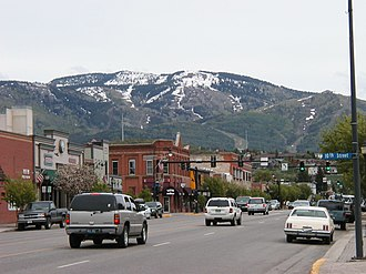 Steamboat Springs, Colorado - Downtown Steamboat Springs, in May 2006
