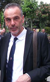 Pioli nel 2012, durante l'esperienza al Bologna