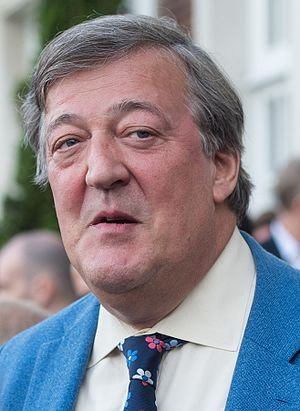 Stephen Fry - Fry at Winfield House in June 2016