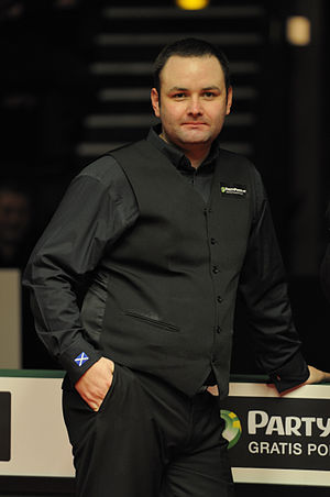 Snooker world rankings 2005/2006 - Image: Stephen Maguire at German Masters Snooker Final (Der Hexer) 2012 02 05 23
