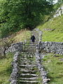 Steps on the Pennine Way at Malham Cove - geograph.org.uk - 559789.jpg