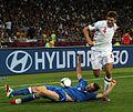 Steven Gerrard and Federico Balzaretti England-Italy Euro 2012.jpg