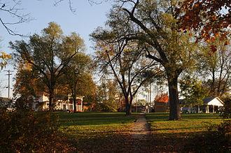 Stewartsville, Missouri - Image: Stewartsville, Missouri City Park (Southwest View)