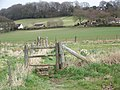 Stile and footpath to Sutton Mandeville - geograph.org.uk - 737711.jpg