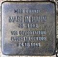 Stolperstein Brixplatz 6 (Weste) Martin Hahn.jpg