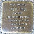 Stolperstein Düren Oberstraße 27 Julie Falk.JPG