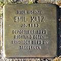 Stolperstein Emil Katz (Griedeler Str.15 Butzbach).jpg