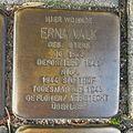 Stolperstein Goch Brückenstraße 37 Erna Valk.JPG
