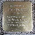 Stolperstein Goch Herzogenstraße 21 Leo Spanier.JPG