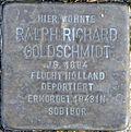 Stolperstein Köln, Ralph Richard Goldschmidt (Ahrweilerstraße 8).jpg