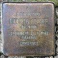 Stolperstein Kastanienallee 23 (Westend) Hedwig Schiff.jpg