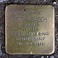 Stolperstein Kirchstr 22 (Moabi) Betty Brasch.jpg