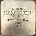 Stolperstein Rudolf de Beer1.jpg