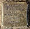 Stolperstein Schillingstr 43 (Reind) Fritz Bombis.jpg