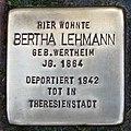 Stolperstein Verden - Bertha Lehmann (1864).jpg