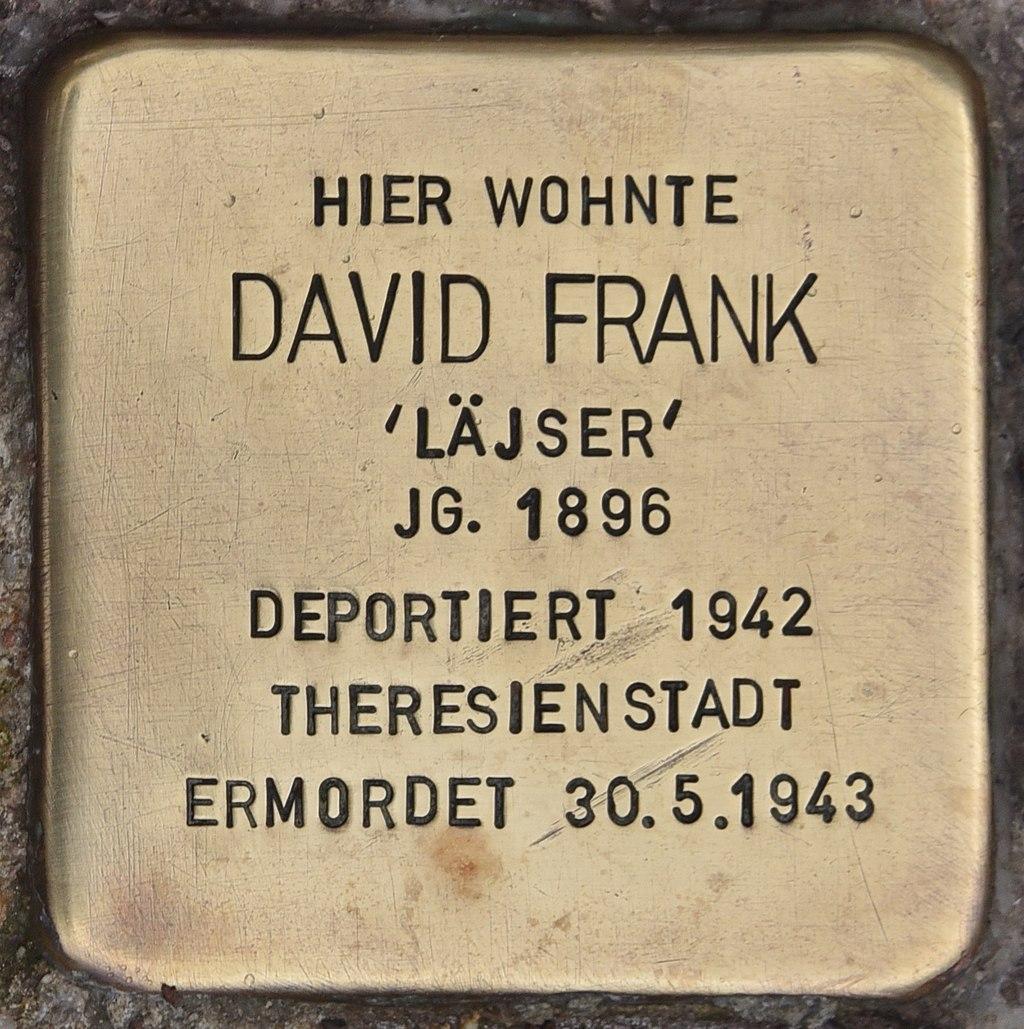 Stolperstein für David Frank (Maßbach).jpg