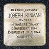 Stolpersteine Joseph Kinman Mondorf-les-Bains, 4 avenue Dr. Klein 01.jpg