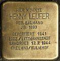 Stolpersteine Köln, Henny Leufer (Venloer Straße 272).jpg