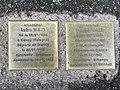 Stolpersteine Lyba Espéra Wajs 45 rue St Germain Fontenay Bois 4.jpg