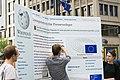 Straßenaktion gegen die Einführung eines europäischen Leistungsschutzrechts für Presseverleger 34.jpg