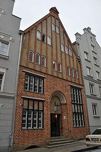 Stralsund, Fährstraße 4 (2012-03-11), by Klugschnacker in Wikipedia.jpg