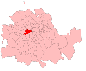 Strand (UK Parliament constituency) - Image: Strand 1885