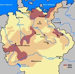 Straty ludnościowe po wojnie 30letniej