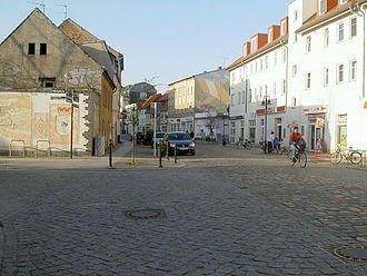 "Strausberg - ""Altstadt"", the old town"