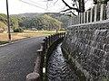 Stream in front of Uchino Oimatsu Shrine.jpg